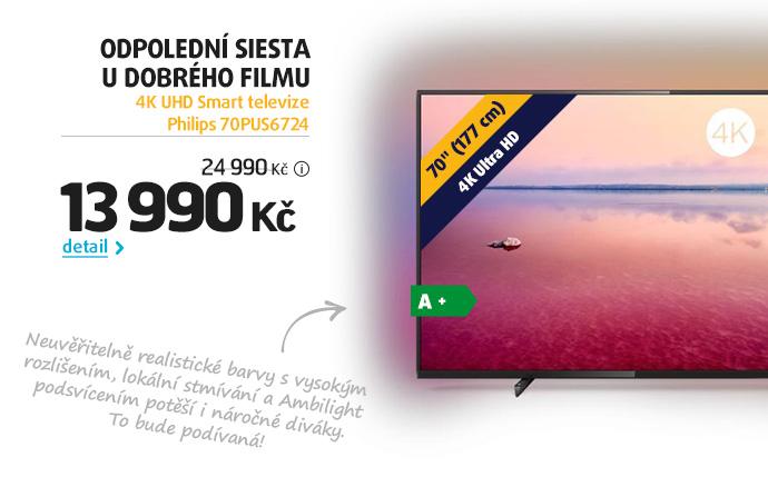 4K UHD Smart televize Philips 70PUS6724