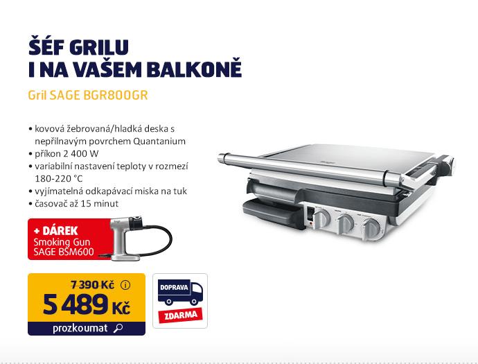Gril SAGE BGR800GR