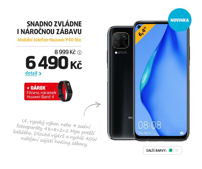 Mobilní telefon Huawei P40 lite