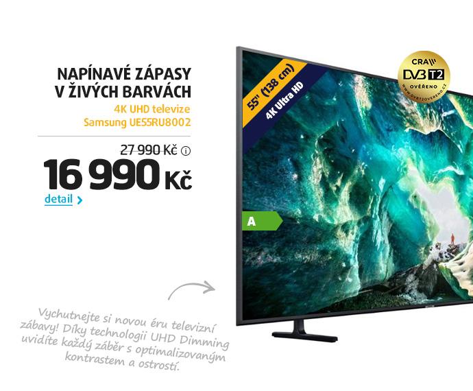 4K UHD televize Samsung UE55RU8002