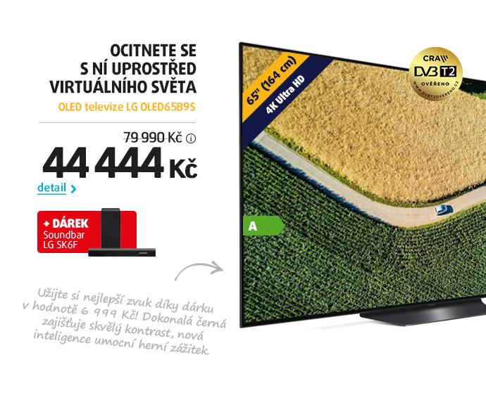 OLED televize LG OLED65B9S