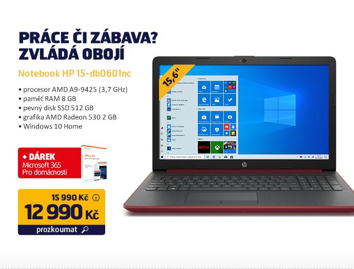 Notebook HP 15-db0601nc