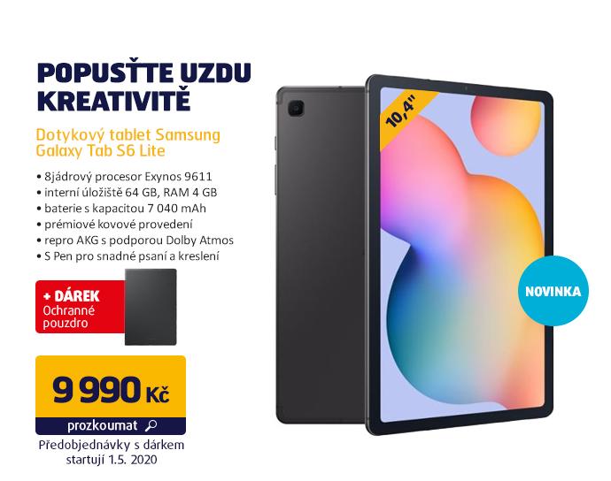 Dotykový tablet Samsung Galaxy Tab S6 Lite