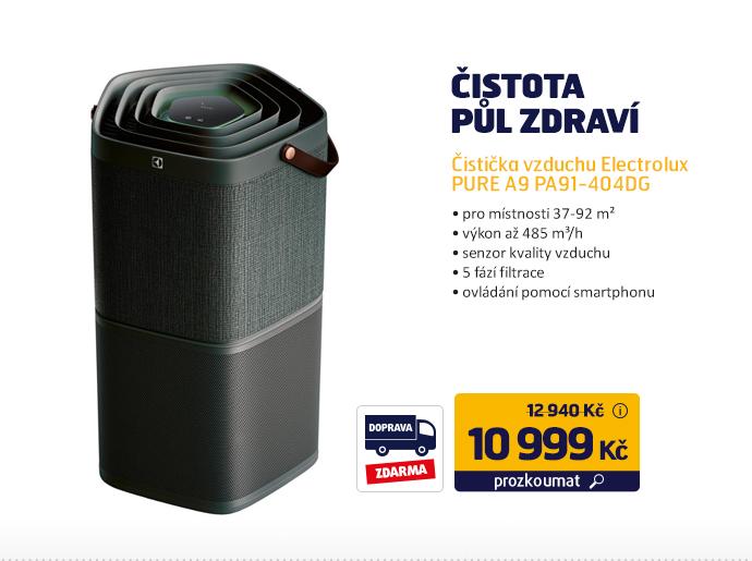 Čistička vzduchu Electrolux PURE A9 PA91-404DG
