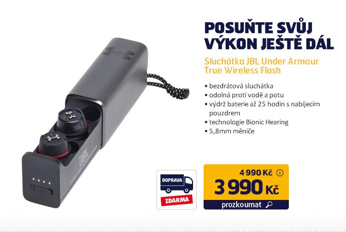 Sluchátka JBL Under Armour True Wireless Flash