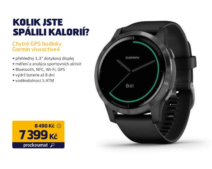 Chytré GPS hodinky Garmin vívoactive4