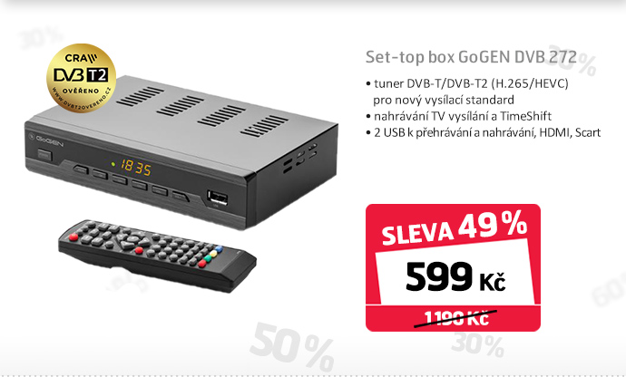 Set-top box GoGEN DVB 272