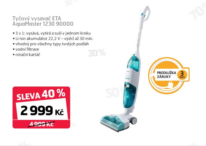 Tyčový vysavač ETA AquaMaster 1230 90000