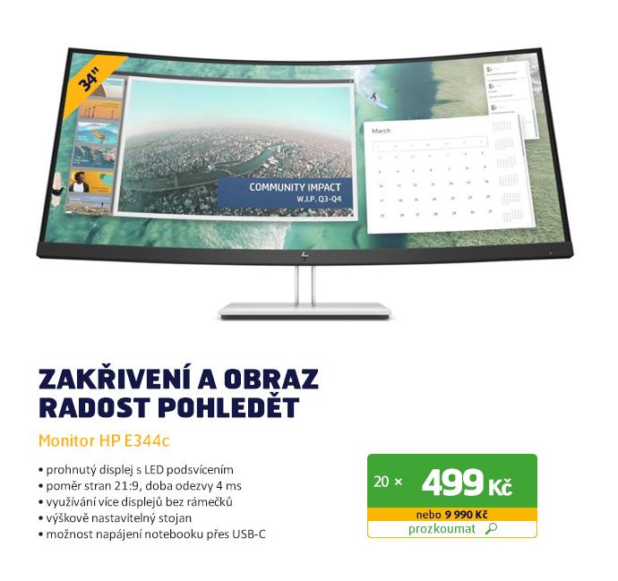 Monitor HP E344c