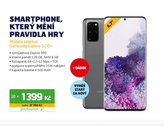 Mobilní telefon Samsung Galaxy S20+