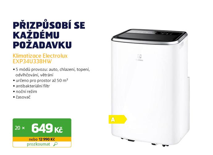 Klimatizace Electrolux EXP34U338HW