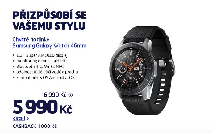 Chytré hodinky Samsung Galaxy Watch 46mm
