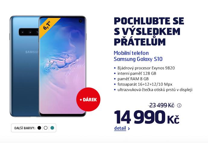Mobilní telefon Samsung Galaxy S10