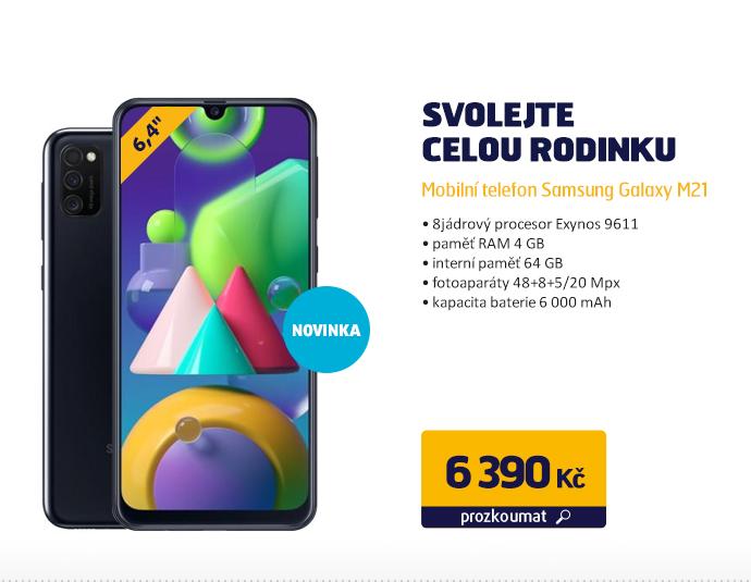 Mobilní telefon Samsung Galaxy M21