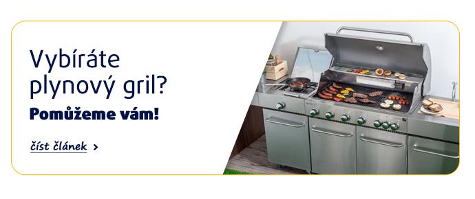 Vybíráte plynový gril? Pomůžeme vám! >>přečíst článek