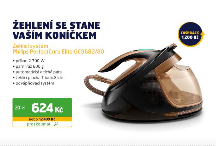 Žehlicí systém Philips PerfectCare Elite GC9682/80