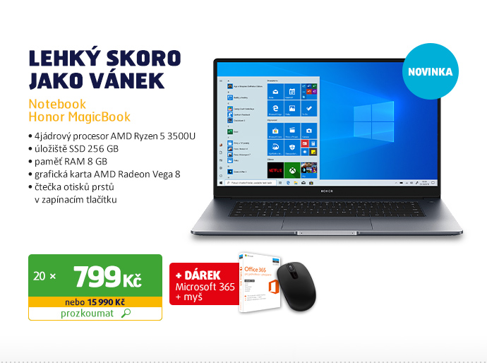 Notebook Honor MagicBook