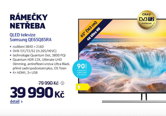 QLED televize Samsung QE65Q85RA
