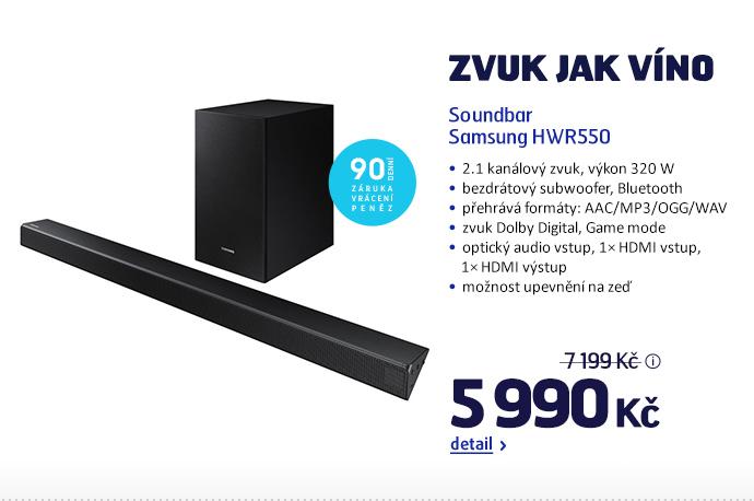 Soundbar Samsung HWR550