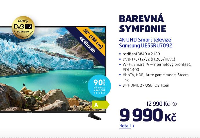 4K UHD Smart televize Samsung UE55RU7092