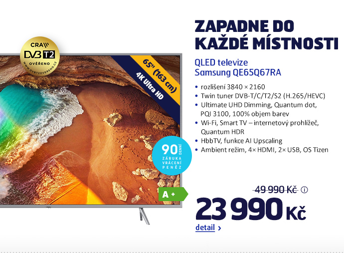 QLED televize Samsung QE65Q67RA