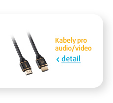 Kabely pro audio/video