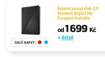 "Externí pevný disk 2,5"" Western Digital My Passport Portable"