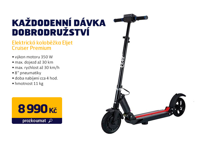 Elektrická koloběžka Eljet Cruiser Premium