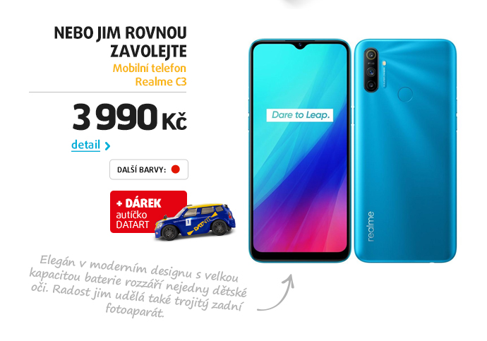 Mobilní telefon Realme C3