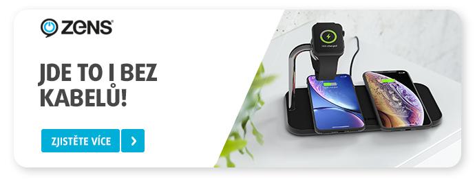ZENS – novinka, bezdrátové nabíječky zaměřené na Apple produkty