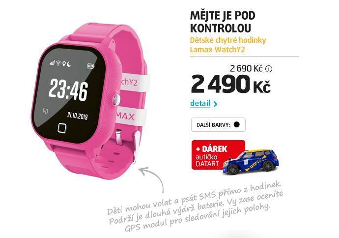 Dětské chytré hodinky Lamax WatchY2