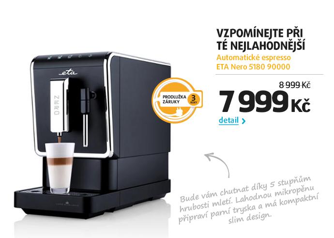 Automatické espresso ETA Nero 5180 90000