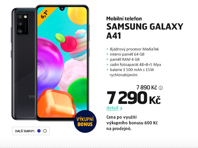 Mobilní telefon Samsung Galaxy A41