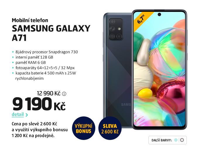 Mobilní telefon Samsung Galaxy A71