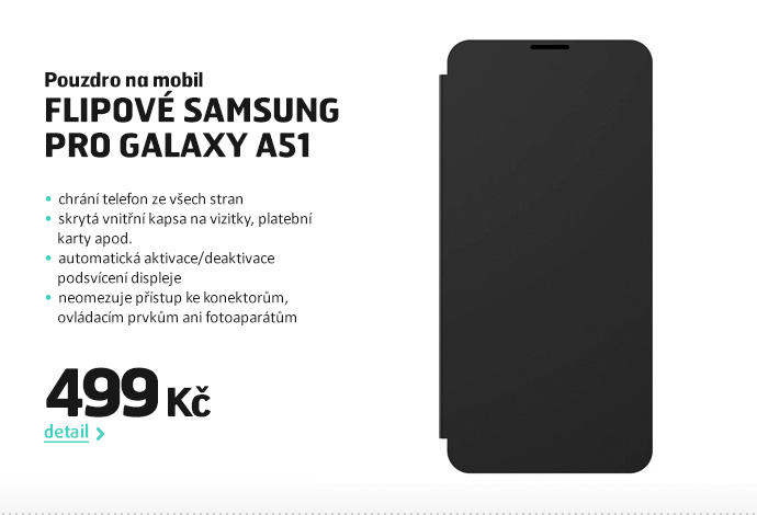 Pouzdro na mobil flipové Samsung pro Galaxy A51