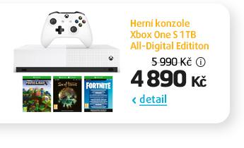 Herní konzole Xbox One S 1 TB All-Digital Edititon