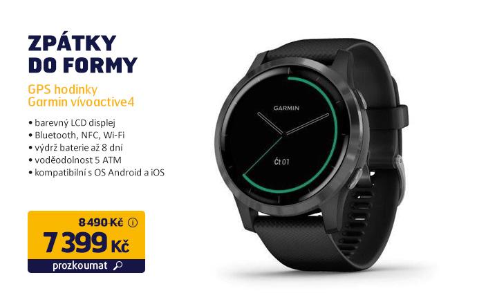 GPS hodinky Garmin vívoactive4