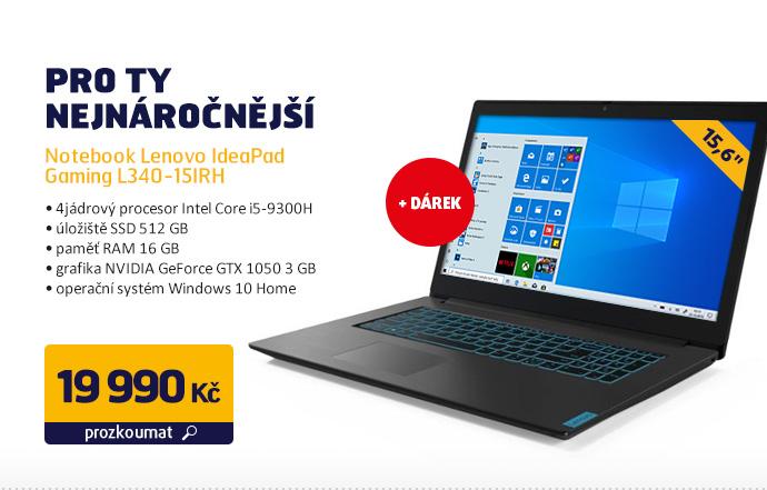 Notebook Lenovo IdeaPad Gaming L340-15IRH