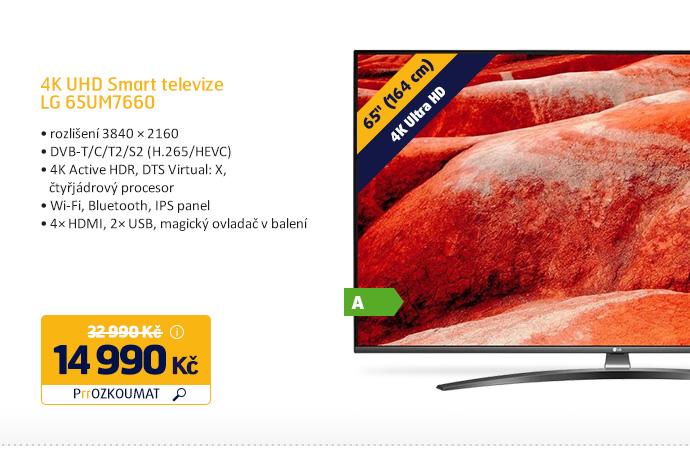 4K UHD Smart televize LG 65UM7660