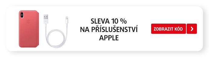 SLEVA 10 % na příslušenství AppleNA PŘÍSLUŠENSTVÍAPPLE