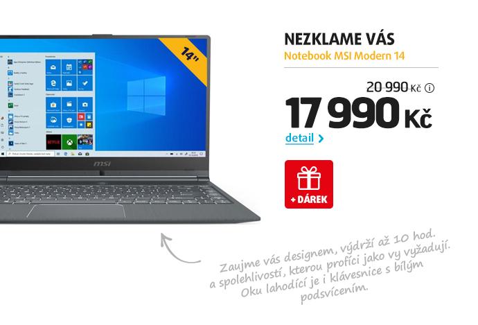 Notebook MSI Modern 14
