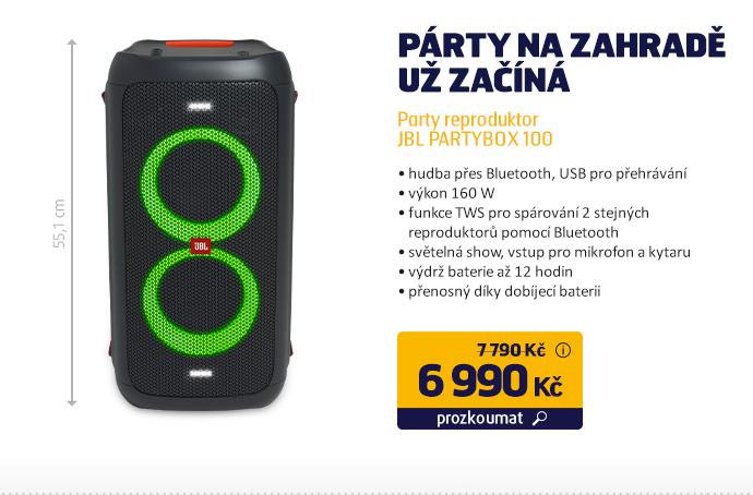 Party reproduktor JBL PARTYBOX 100