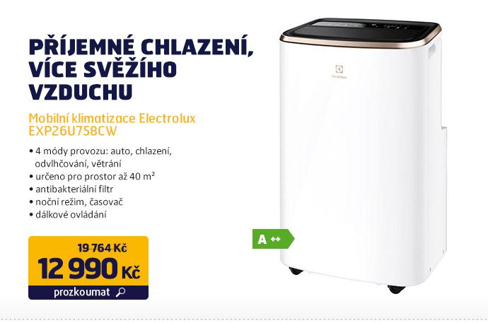 Mobilní klimatizace Electrolux EXP26U758CW