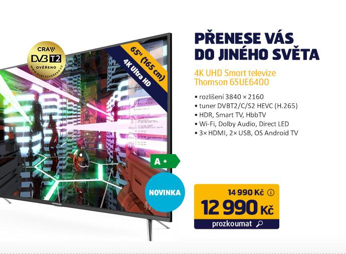 4K UHD Smart televize Thomson 65UE6400
