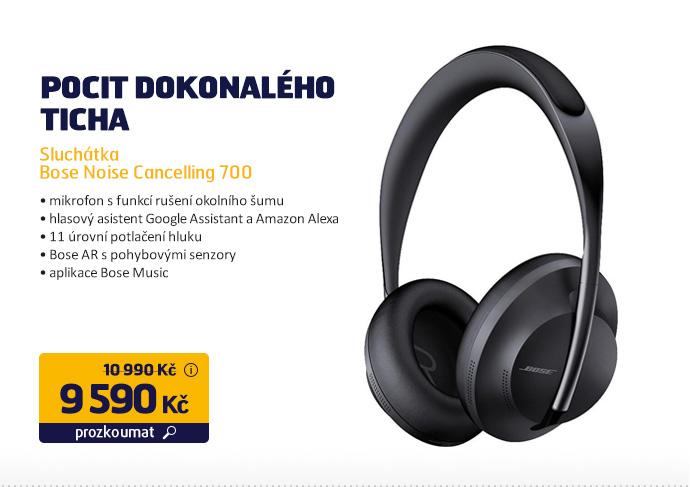 Sluchátka Bose Noise Cancelling 700