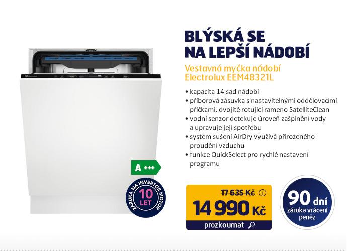 Vestavná myčka nádobí Electrolux EEM48321L
