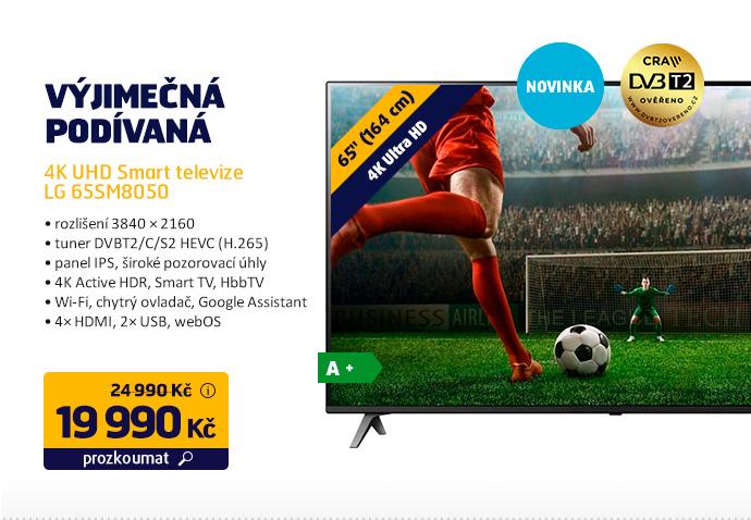 4K UHD Smart televize LG 65SM8050