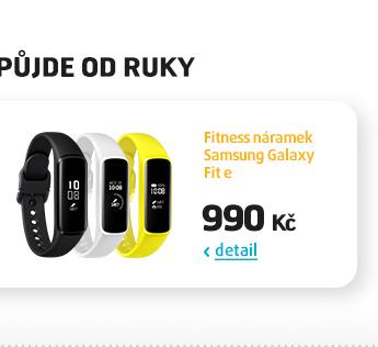 Fitness náramek Samsung Galaxy Fit e