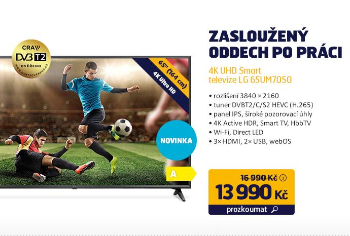 4K UHD Smart televize LG 65UM7050