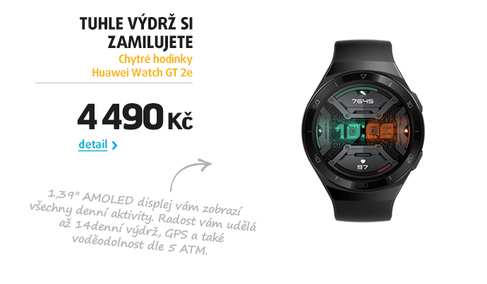 Chytré hodinky Huawei Watch GT 2e